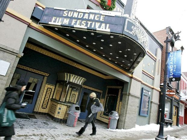 Main Street in Park City, Utah, is a focus of the Sundance Film Festival, where filmmakers show off their new works. (Associated Press)