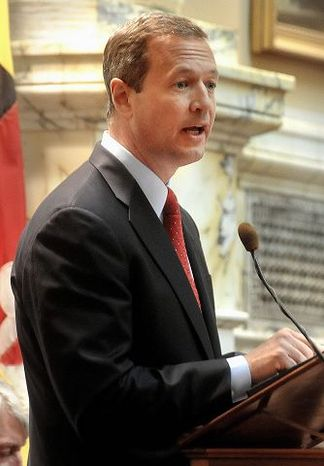 ** FILE  Maryland Democratic Gov. Martin O'Malley