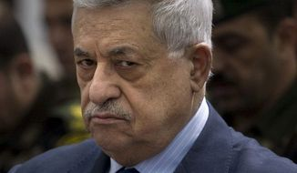 **FILE** Palestinian Authority President Mahmoud Abbas