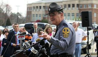 Virginia State Police Superintendent W. Steven Flaherty
