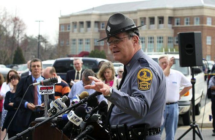 Virginia State Police Superintendent W. Steven Flaherty