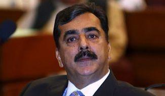 **FILE** Pakistani Prime Minister Yousaf Raza Gilani