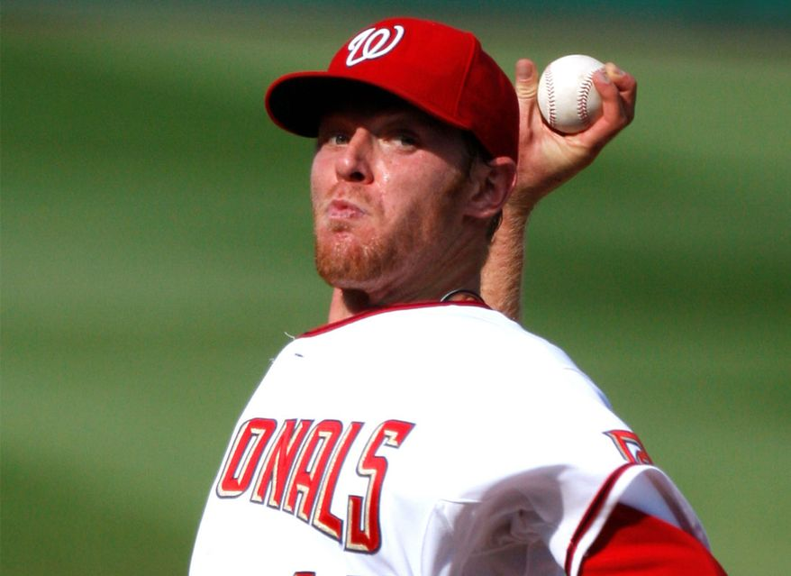 The Washington Nationals dealt Collin Balester to the Detroit Tigers for Ryan Perry. In 35 2/3 innings last season, Balester had a 4.54 ERA and 1.46 WHIP. (Associated Press)