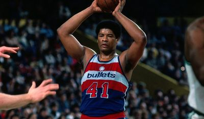 Getty Images Wes Unseld was on the Bullets' original trip to China in 1979.
