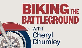 Biking the battleground: Canvassing America's voters