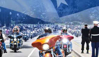 Rolling Thunder®, Inc. Holds 31st Ride for Freedom