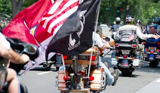 We Will Never Forget: Rolling Thunder®, Inc. Holds 32nd Ride For Freedom