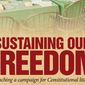 Sustaining Our Freedom: Launching a campaign for Constitutional literacy