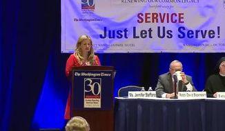 The Washington Times 30th Anniversary Symposium - Service