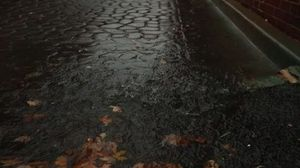 Superstorm Sandy: Alexandria VA, Monday Morning